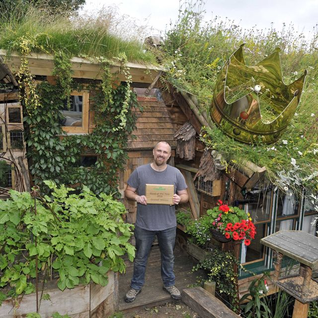 the 'west wing' from berkshire has been crowned winner of the cuprinol shed of the year competition 2016