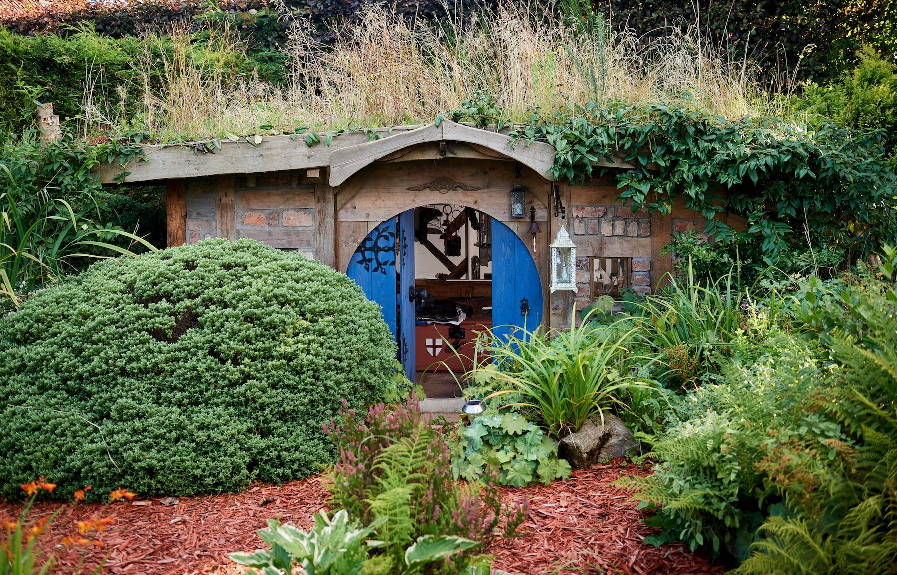 Shed of the Year 2019 winner is nature-themed hobbit hole shed, Bux End