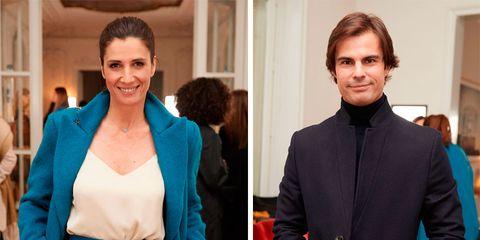 Elia Galera y Curi Gallardo, juntos pero no revueltos en el desfile de Lexdeus