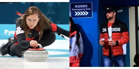 Curling, Winter sport,