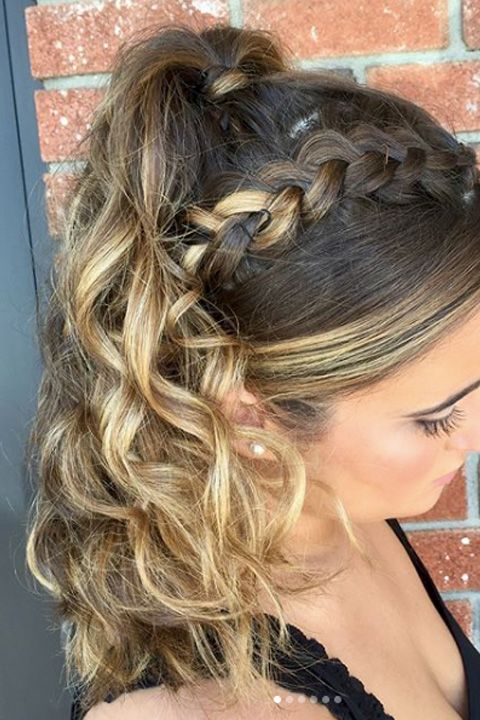 31 Best Prom Updos For 2018 Easy Insta Worthy Prom Updo