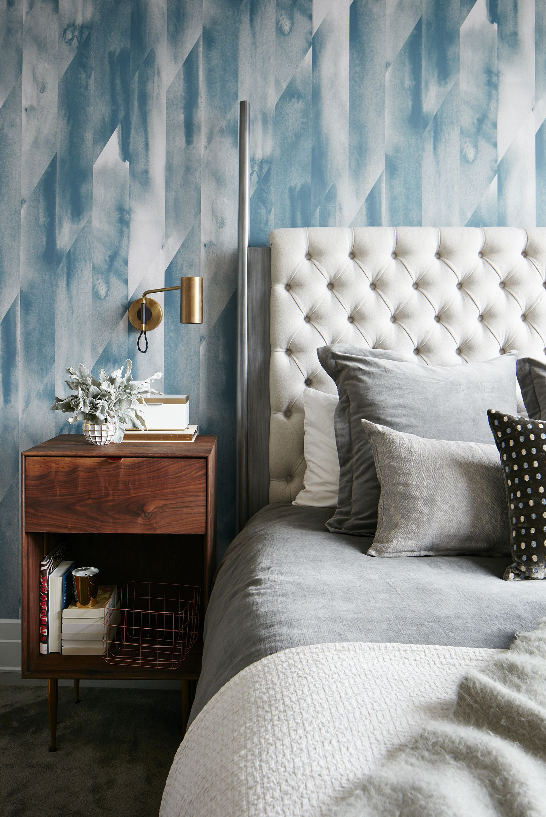 Tastefully Wallpapered Bedrooms