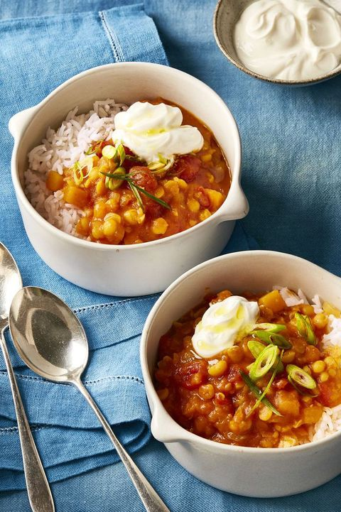 Heart Healthy Recipes - Slow Cooker Curried Butternut Squash Stew