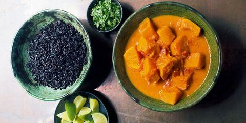 curry flespompoen aardappel