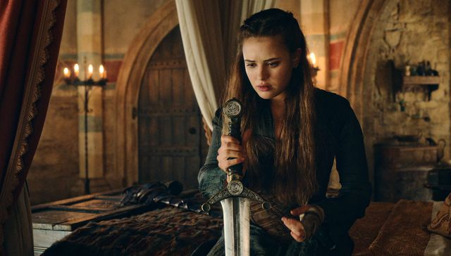 cursed l to r katherine langford as nimue in episode 108 of cursed cr courtesy of netflix © 2020