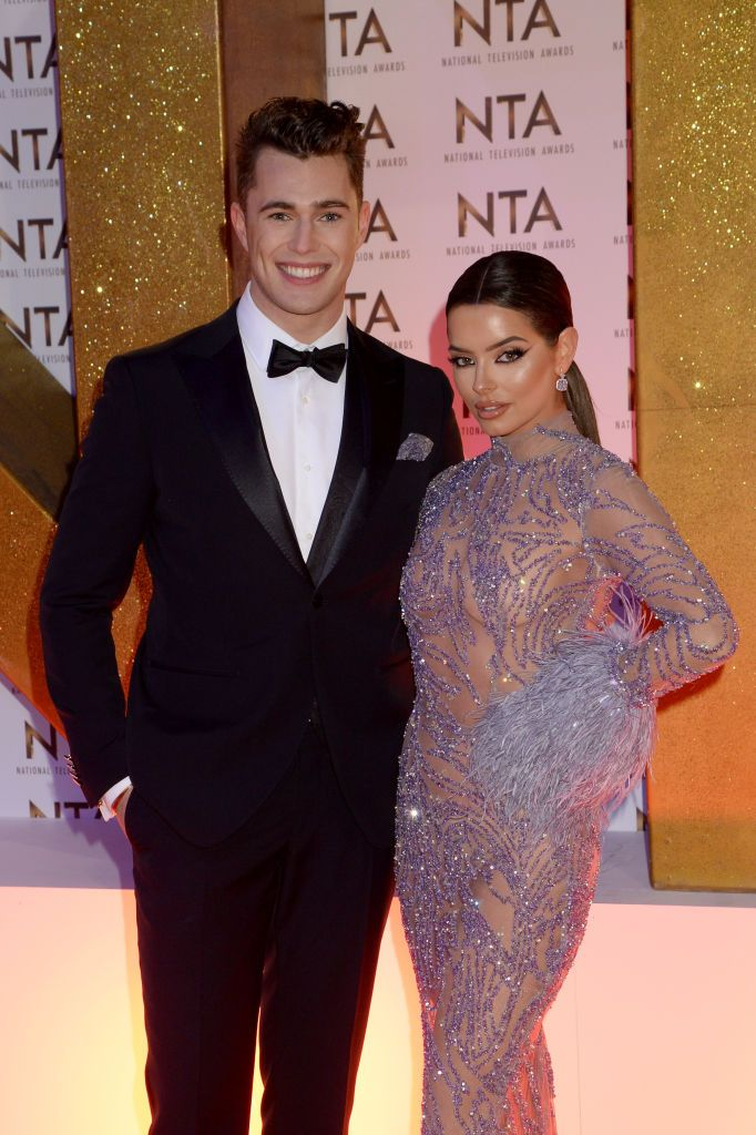 This is how Curtis reacted to an Amy Hart joke at the National Television Awards