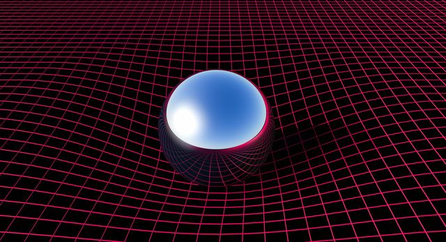 curvature of space