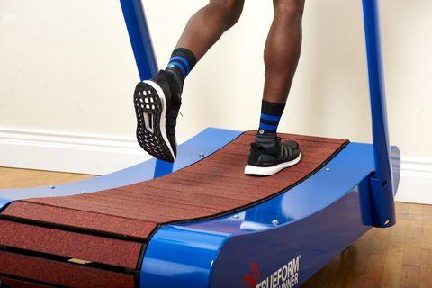 curved treadmill