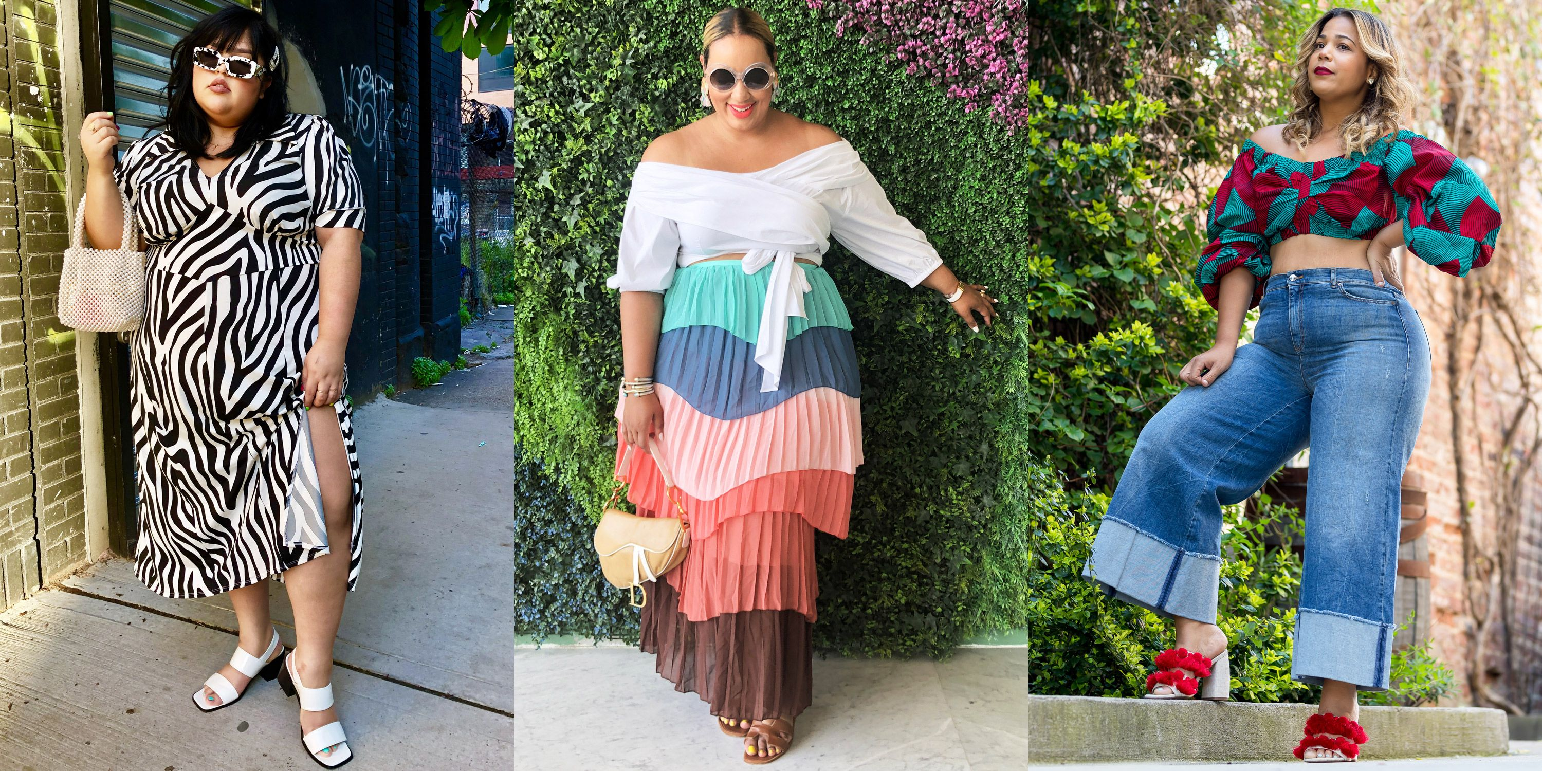 Plus,Size Summer Outfit Ideas for 2019, Courtesy of Stylists