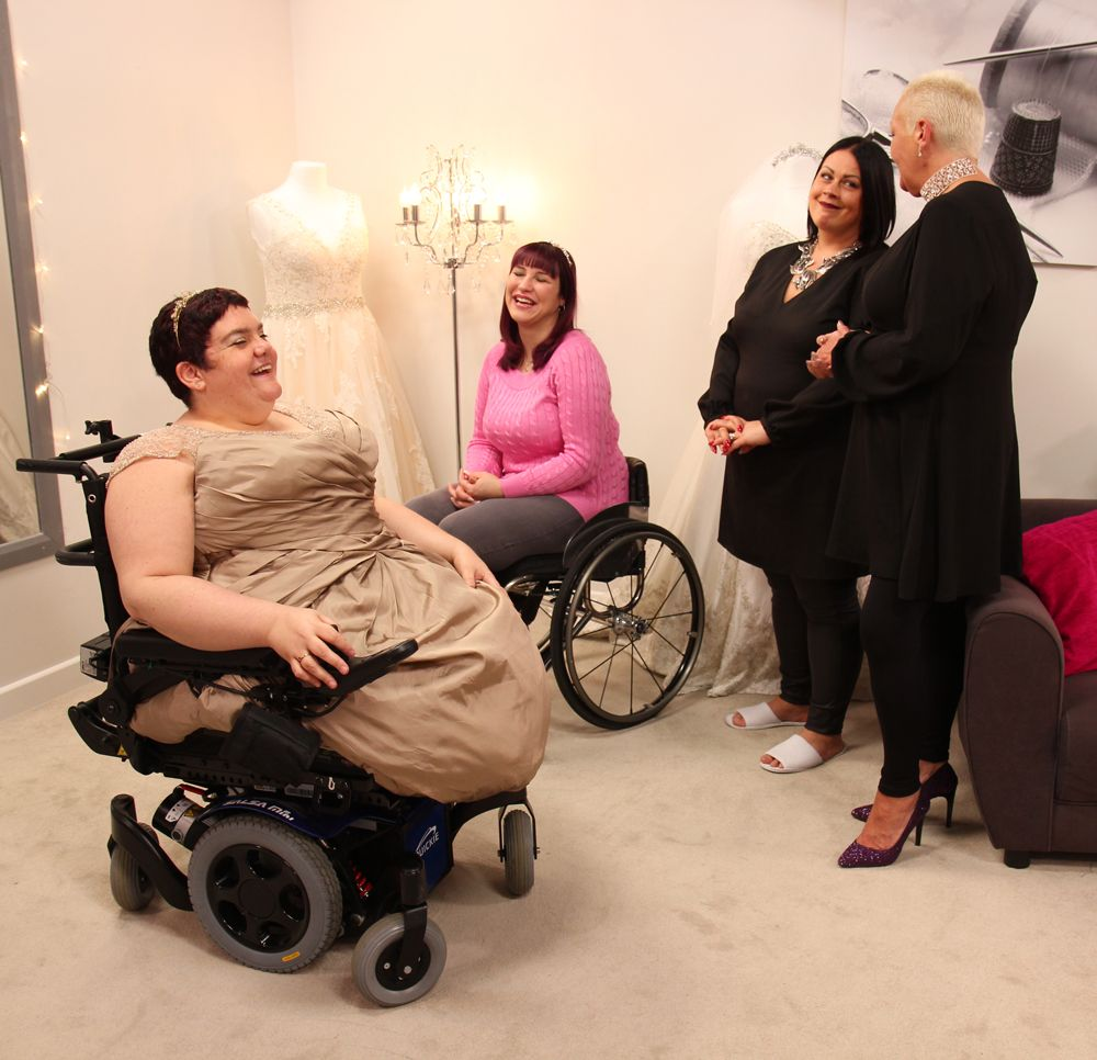 65a7506cdd9 The reality of wedding dress shopping when you have a disability