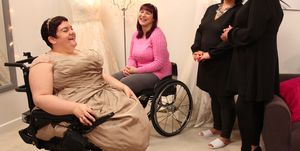 curvy brides boutique disability wedding dress wheelchair