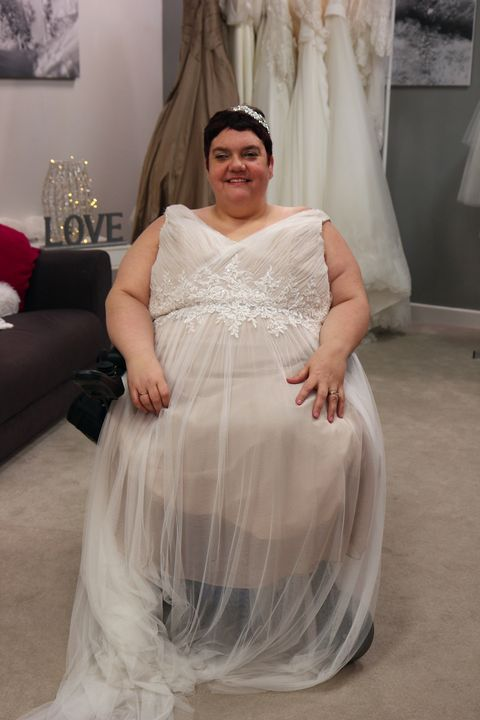 8ba1a17ba65 The reality of wedding dress shopping when you have a disability