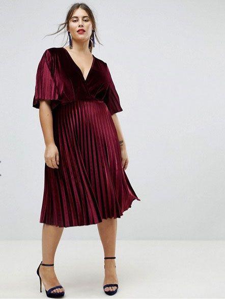 curvy party dresses
