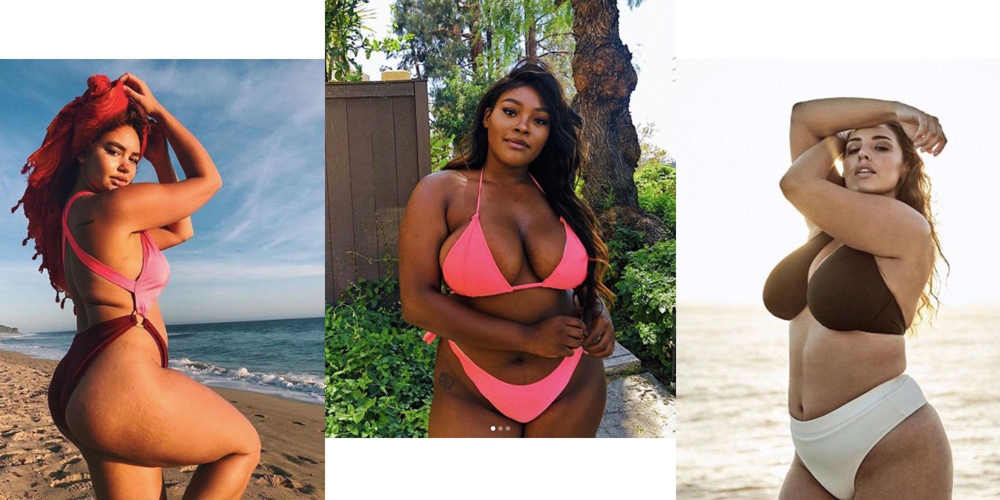 Curvy mature models