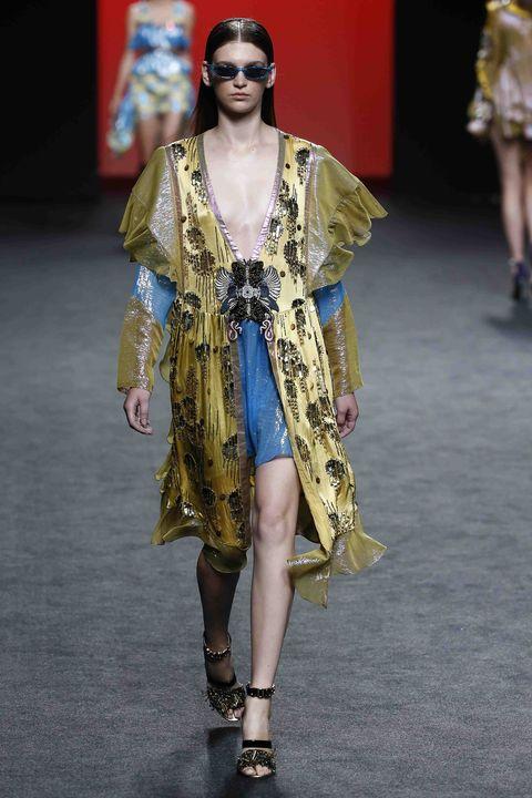 Desfile de Custo Becelona en Mercedes-Benz Fashion Week Madrid