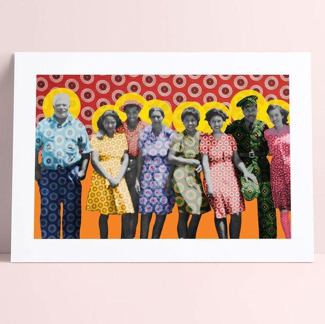 frequencyoflove custom family portrait