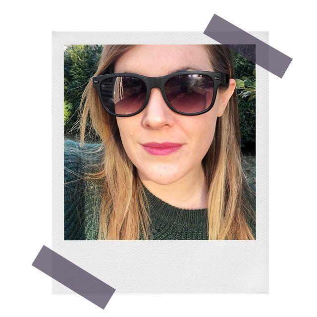 caitlyn wearing custom knockaround sunglasses