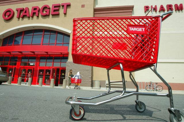 target corp reported a 4 percent increase in second quarter profits
