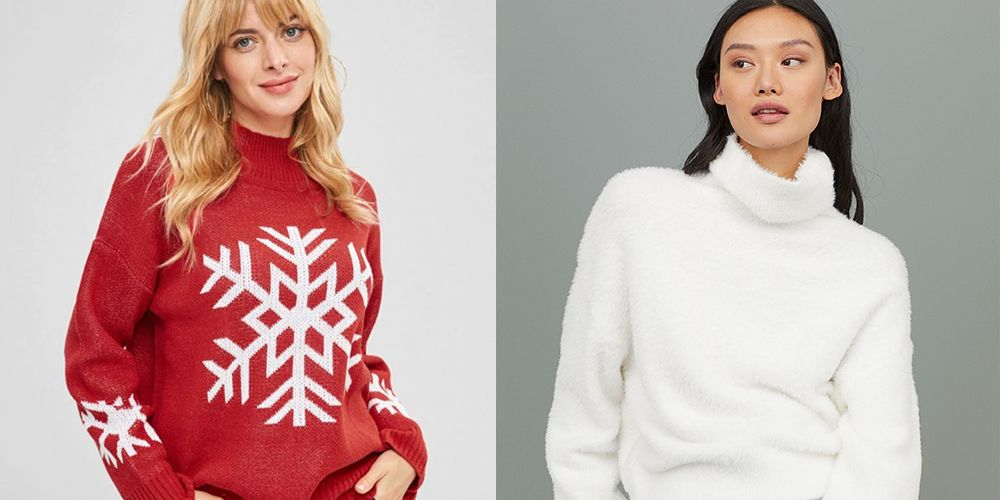 30 Cute Christmas Sweaters , Pretty and Stylish Holiday Sweaters