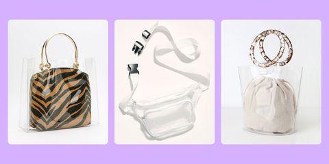 cute clear bags