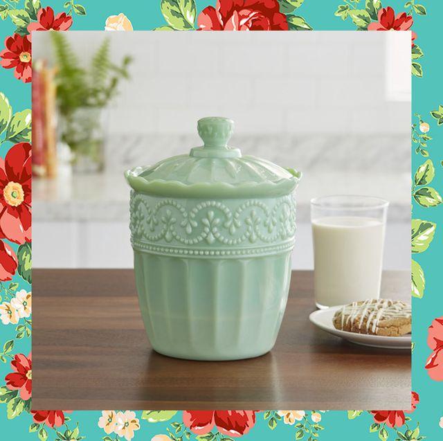 cute cookie jars pioneer woman timeless beauty tin cookie jar