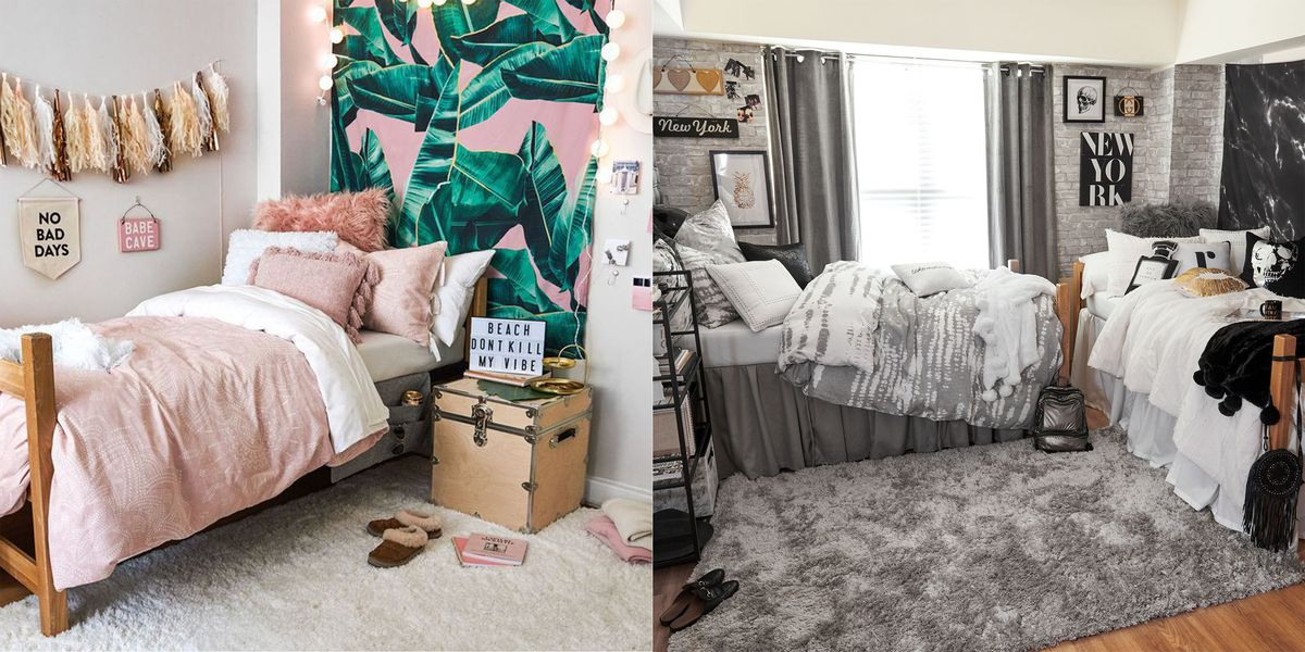 15 cute dorm rooms for 2019 best college dorm decor and - Dorm underbed storage ideas ...