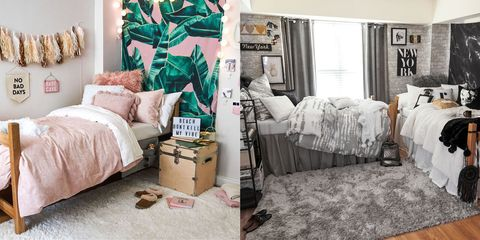 a94f552b36bc4 15 Cute Dorm Rooms for 2019 – Best College Dorm Decor and Ideas