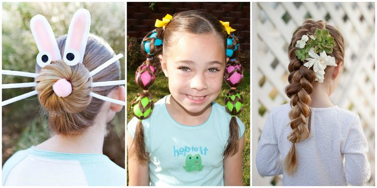 8 Cute Easter Hairstyles for Kids - Easy Hair Ideas for Girls this ...