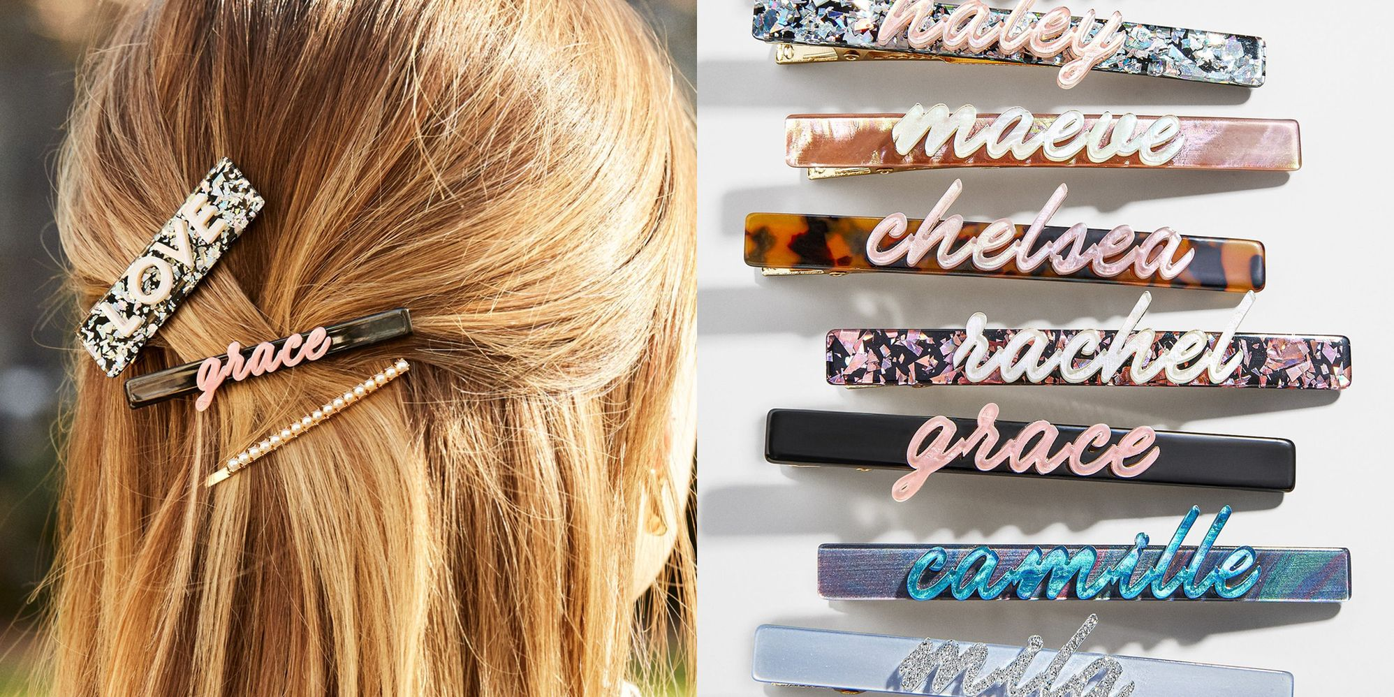 A  Twin Pack Of Large Tortoiseshell Brown Hair Clips