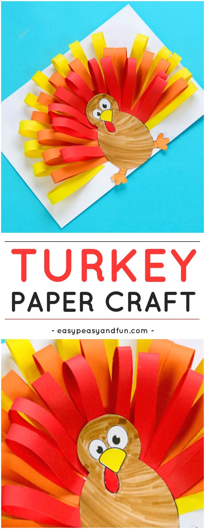 Creative Ways To Decorate A Turkey On Paper