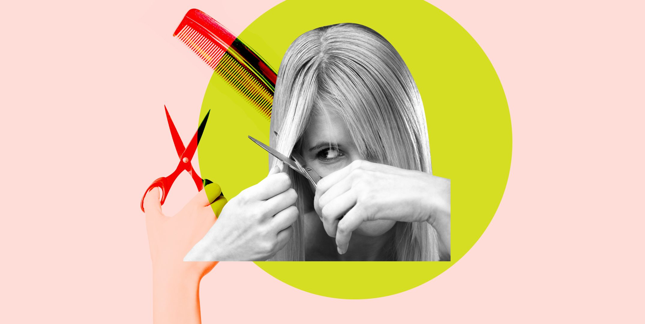 How to Cut Your Own Hair at Home Without Totally Effing It Up