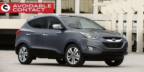 Land vehicle, Vehicle, Car, Motor vehicle, Automotive design, Hyundai, Sport utility vehicle, Bumper, Crossover suv, Automotive tire,