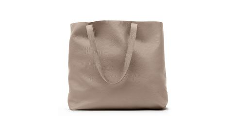 Bag, Handbag, Brown, Beige, Leather, Fashion accessory, Tote bag, Luggage and bags,