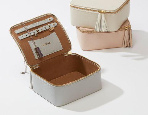 Product, Box, Beige, Fashion accessory, Rectangle,