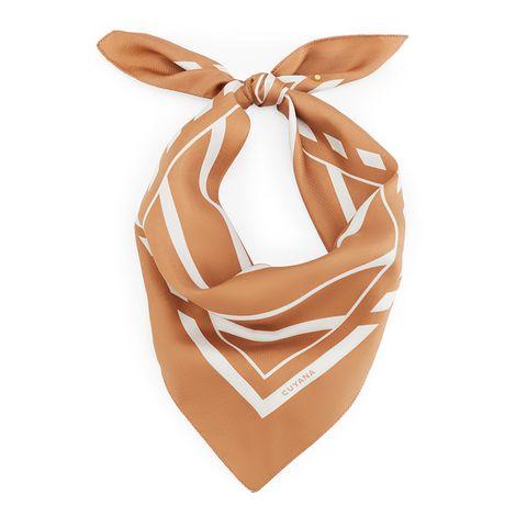 cuyana silk scarf mask
