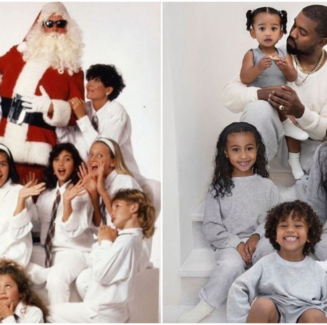 Kardashian Christmas Card 2020 See All the Kardashian Family Christmas Cards