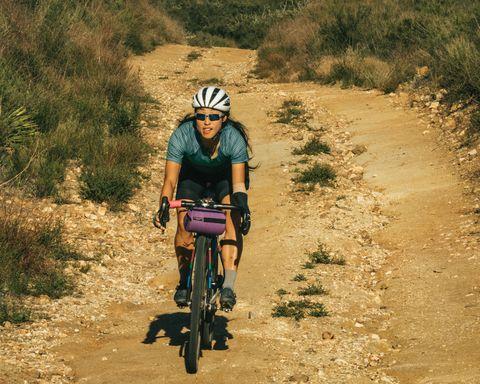 josie fouts biking