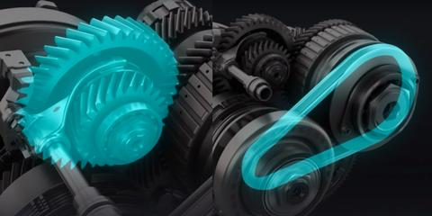 Animation, Gear, Design, Tire, Turquoise, Wheel, Graphic design, Illustration,