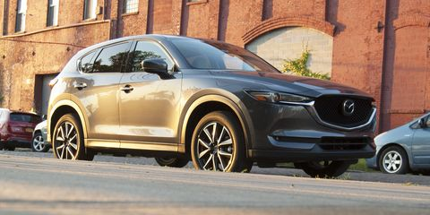 Land vehicle, Vehicle, Car, Automotive design, Motor vehicle, Mazda, Crossover suv, Mazda cx-5, Volvo xc90, Compact sport utility vehicle,