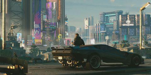 Mode of transport, Motor vehicle, Vehicle, Transport, Automotive design, Batman, Pc game, Car, Games, Downtown,