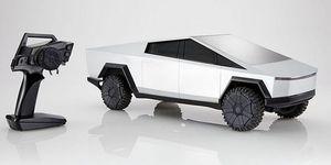Tesla Cybertruck radiocontrolHot Wheels