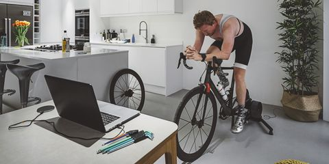 Cycle training indoors
