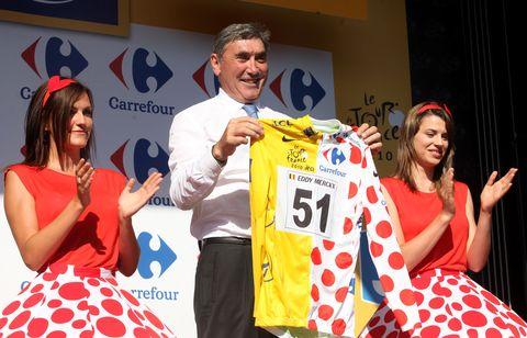 Tour de France ode aan Eddy Merckx