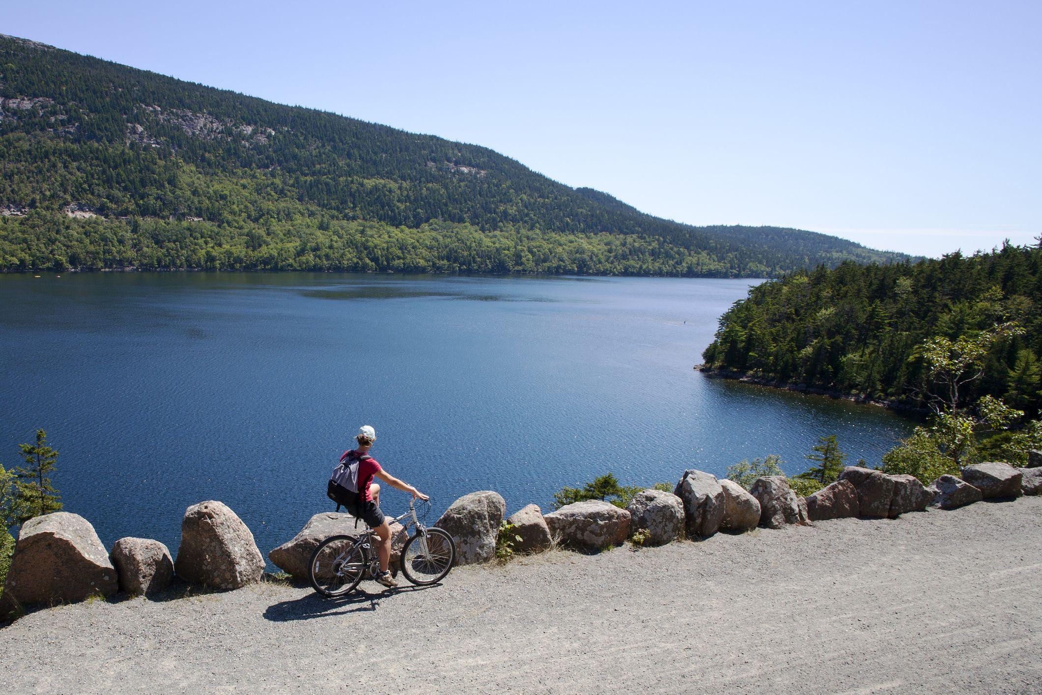 Cyclist by Jordan Pond