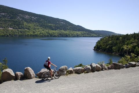 Cyclist by Jordan Pond