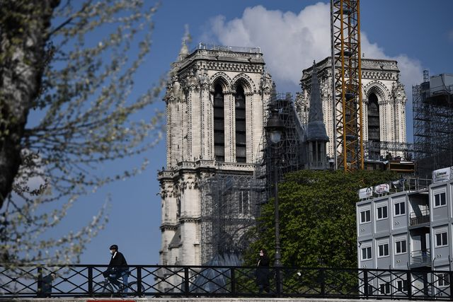 france fire notre dame anniversary