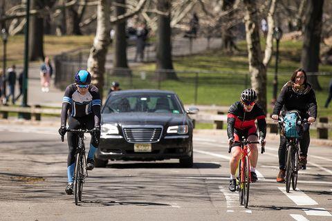 Cyclists Central Park