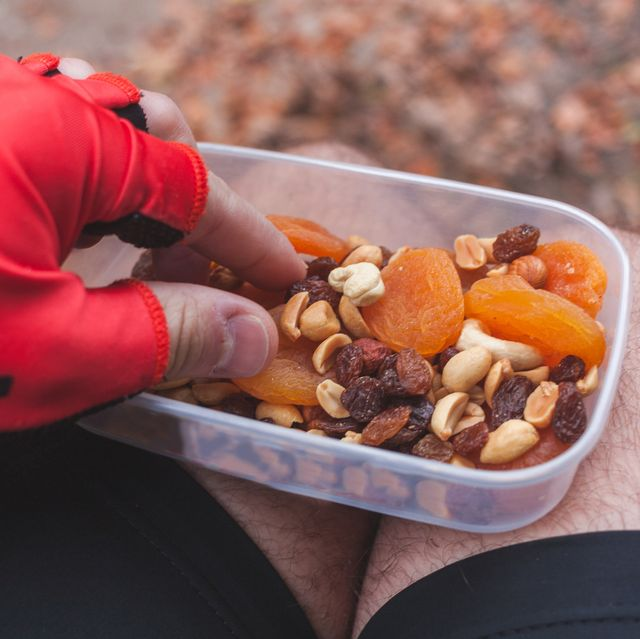 cyclists food