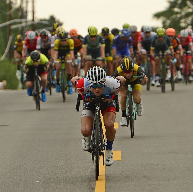 stage three of the colorado classic bike race  in denver