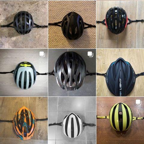 Post op social media met #cycliststaysafe en support alle fietsers over de hele wereld